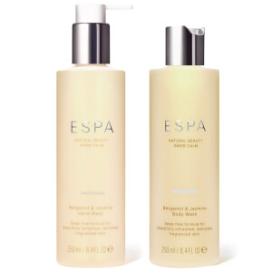 ESPA Bergamot and Jasmine Hand and Body Duo