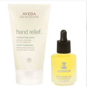 Aveda Hand Relief and Jessica Phenomen Oil Duo