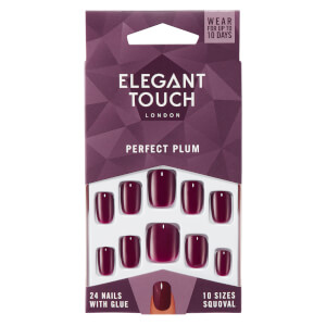 Elegant Touch Perfect Plum Nails