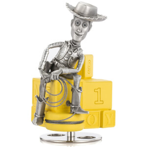 Figurine Woody Toy Story en étain Disney - Royal Selangor