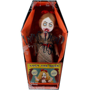 Mezco Living Dead Dolls Series 30 Variant - Lucy the Geek 10 Inch Doll
