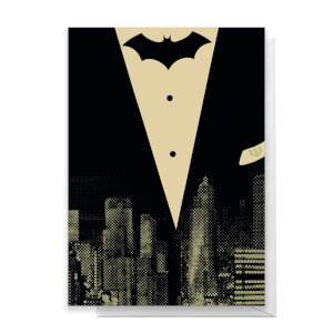 Batman Tuxedo Greetings Card