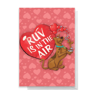 Scooby Doo Valentines Ruv Greetings Card