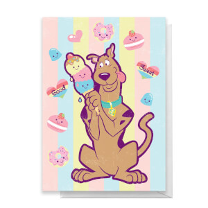 Scooby Doo Greetings Card