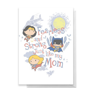 DC Happy Mother's Day Greetings Card