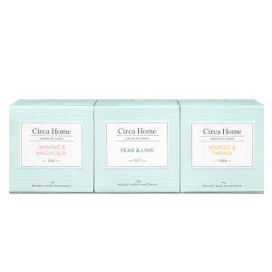 Circa Home Mini Candle Trio Mini Candle Trio 3 x 60g