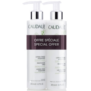 Caudalie Moisturising Toner Duo 2 x 200ml (Worth £30.00)