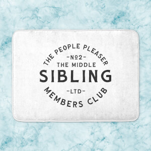 The Middle Sibling The People Pleaser Bath Mat