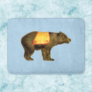 Circus Bear Bath Mat