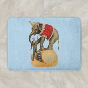 Elephant Tricks Bath Mat