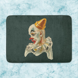 Serious Clown Bath Mat