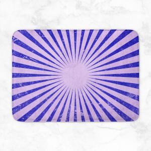 Circus Beams Purple Bath Mat