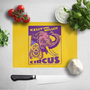 Kelly And Miller Circus Chopping Board