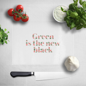 Green Is The New Black Chopping Board