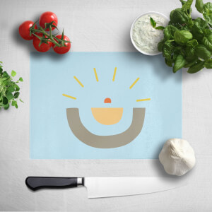 Abstract Sun Chopping Board