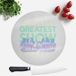 Greatest Show Round Chopping Board
