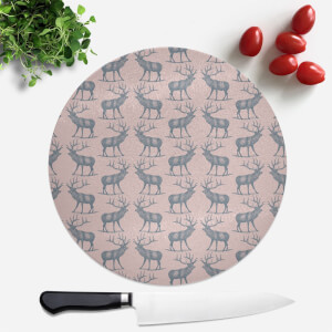 Deer Round Chopping Board