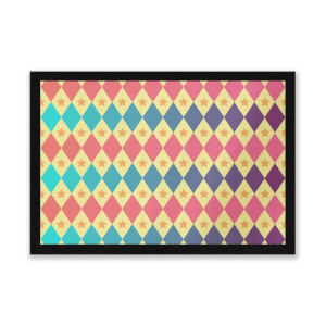Big Top Pattern Entrance Mat