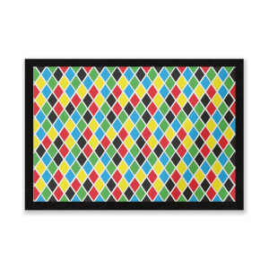 Clown Pattern Entrance Mat