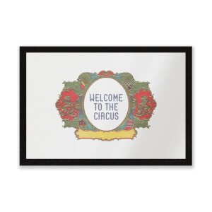 Welcome To The Circus Wide Emblem Entrance Mat
