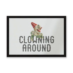 Clowning Around Entrance Mat