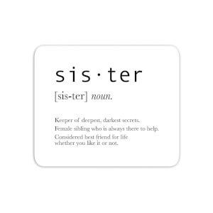 Sister Definition Mouse Mat