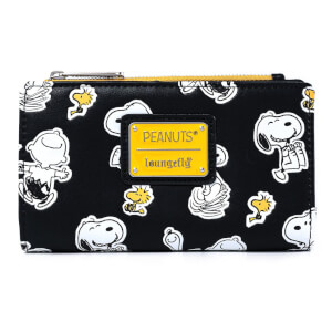 Loungefly Peanuts Snoopy And Woodstock Wallet