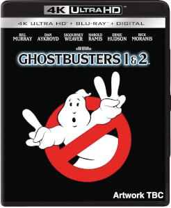 Ghostbusters I (1984) & II (1989) - 4K Ultra HD (Includes 2D Blu-ray)