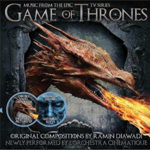 Game Of Thrones - Music From The TV Series Volume 1 Double Picture Disc LP