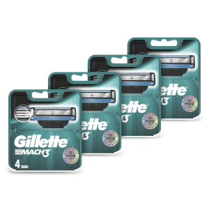 Mach3 Men's Razor Blades (16 Pack) - 12 Month Bundle