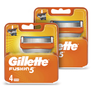 Fusion5 Men's Razor Blades (8 Pack) - 6 Month Bundle