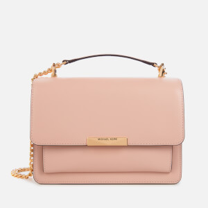MICHAEL MICHAEL KORS Women's Jade Large Gusset Shoulder Bag - Soft Pink