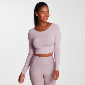 Damen Composure Langarm Top - Rosewater