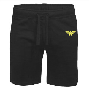 DC Wonder Woman Unisex Jogger Shorts - Black