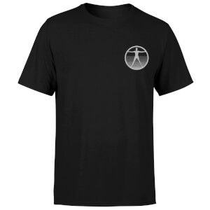 Westworld Logo Embroidered Unisex T-Shirt - Black