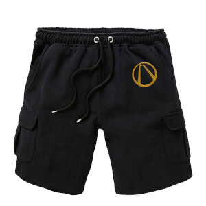 Borderlands Embroidered Unisex Cargo Shorts - Black