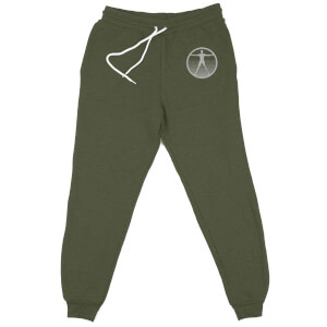 Westworld Logo Embroidered Unisex Joggers - Khaki