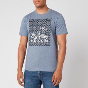 Coach Men's Skyline T-Shirt - Blue