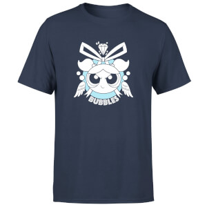The Powerpuff Girls Bubbles Unisex T-Shirt - Navy