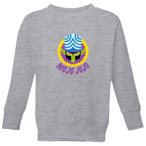 The Powerpuff Girls Mojo Jojo Kids' Sweatshirt - Grey