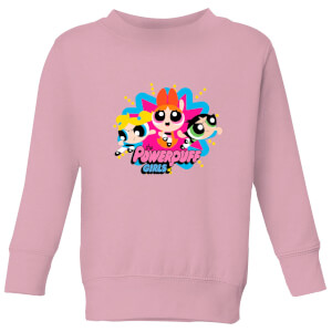 The Powerpuff Girls PPG Kids' Sweatshirt - Baby Pink