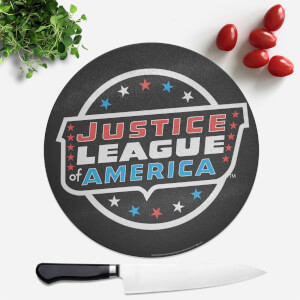 Justice League Round Chopping Board