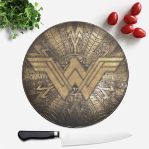 Wonder Woman Round Chopping Board