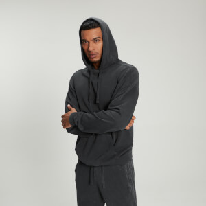 Hoodie Raw Training para Homem da MP - Washed Black