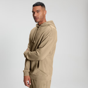 MP Men's Raw Training Kapuzenpullover - Hellbraun