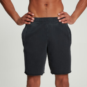 MP Men's Raw Training Sweatshort - Washed Black