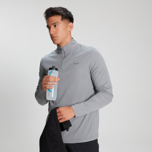 MP Men's Velocity ¼  Zip - Storm Grey