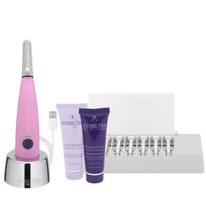 Michael Todd Beauty Sonicsmooth Sonic Dermaplaning and Exfoliation System - Pink