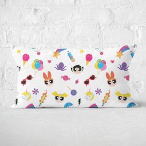 The Powerpuff Girls Colourful PPG Rectangular Cushion