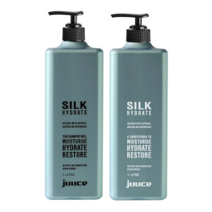 Juuce Silk Hydrate Shampoo and Conditioner Duo 2 x 1L